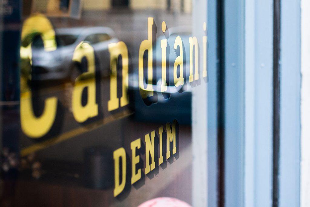 Insegna vintage - insegne foglia oro Brescia Milano