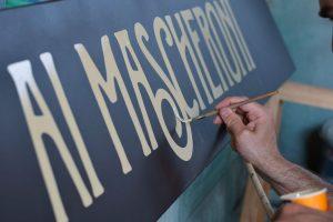 ricCarlo Destefani - Insegne antiche dipinte a mano in stile vintage ristorante Verona